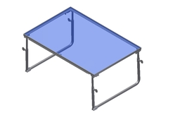 Folding table for breackfast in bed or laptop working in bed