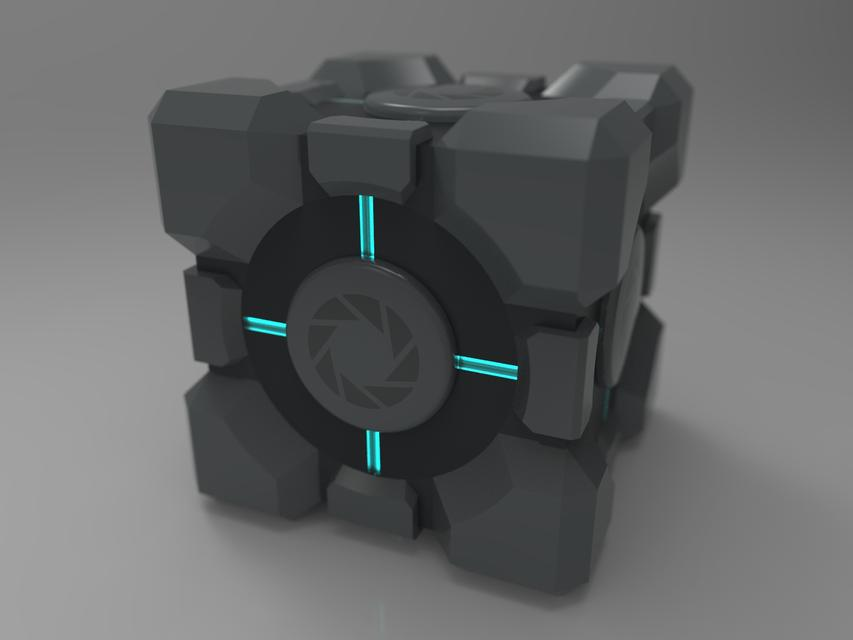& Weighted Storage Cube | 3D CAD Model Library | GrabCAD