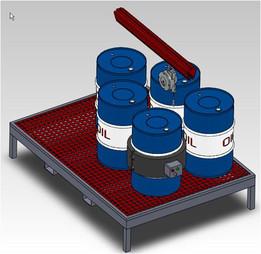 Calentador de barriles