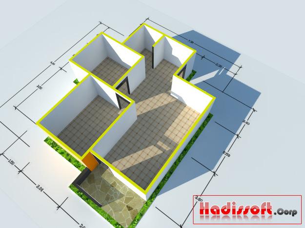 3d Floor Plan Sketchup 3d Cad Model Grabcad