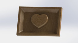 Frame Picture with heart