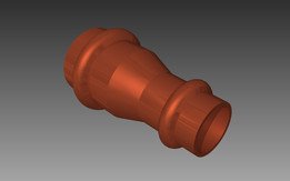 Viega 325794 (18mm -> 15mm) profipress fitting