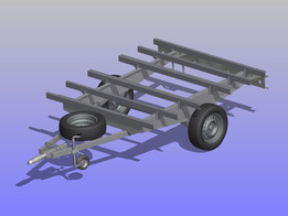 small trailer frame