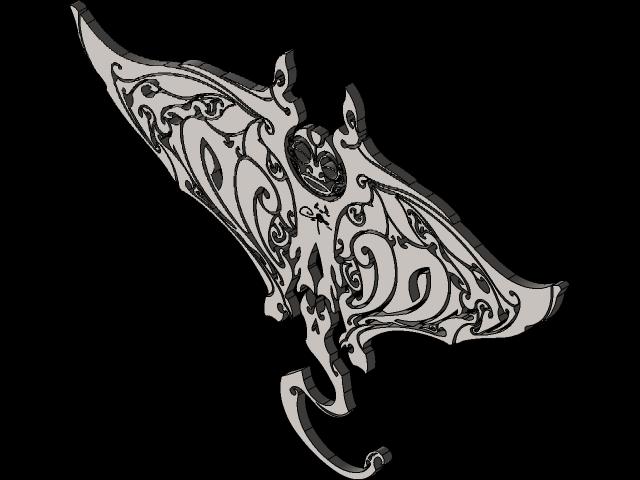 Manta Ray 3d Cad Model Library Grabcad