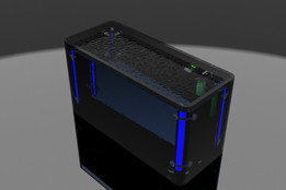 Aquário com luzes/ Aquarium lights in SolidWorks 2010