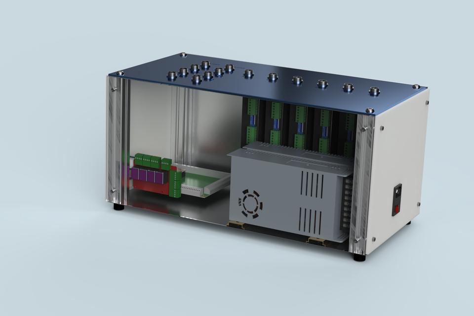 Generic 6 Axis CNC / Robotics Controller | 3D CAD Model Library