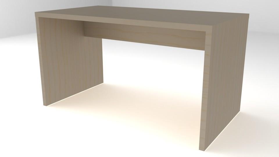ikea desk solidworks 3d cad model grabcad
