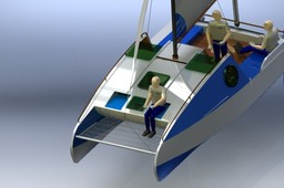 eco6 sail catamaran