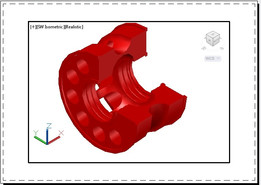 CNC machine part (Axis)