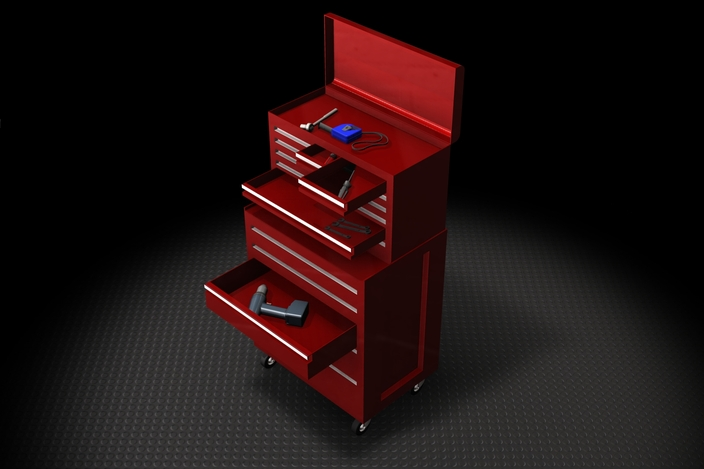 Tool Box Autodesk Inventor Stl Step Iges 3d Cad