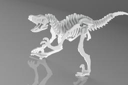 Velociraptor Woodcraft