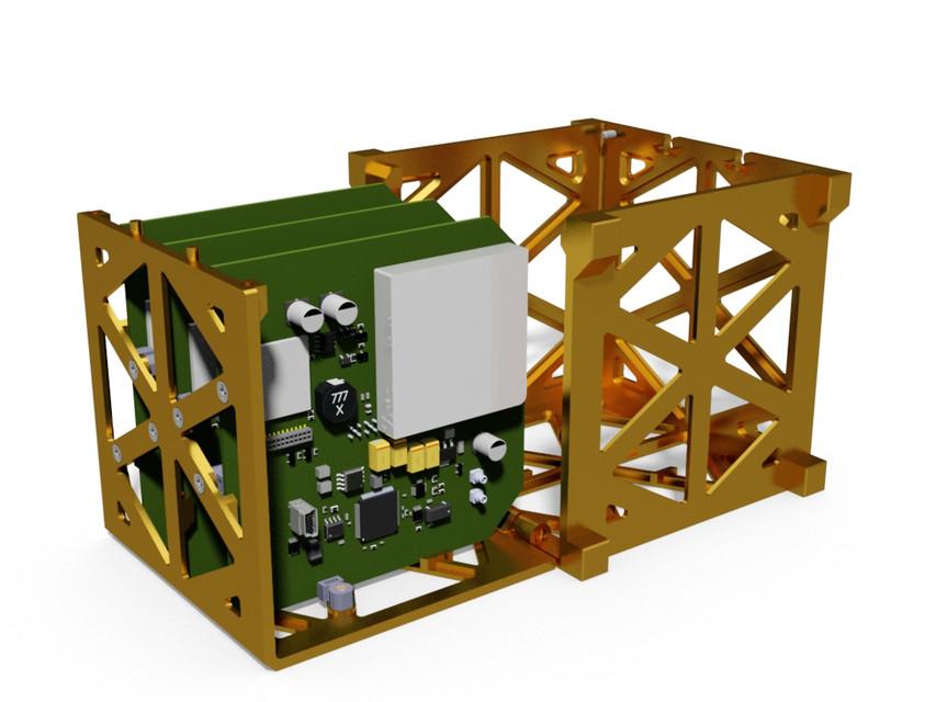 cubesat - Recent models | 3D CAD Model Collection | GrabCAD