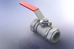 22mm Ball shut off valve