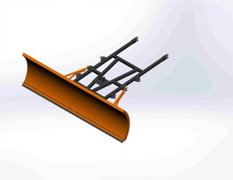 Car scraper for snow removal, snow Plow