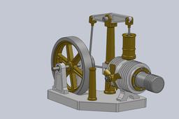Beamer Stirling Engine