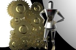 Robo man KeyShot
