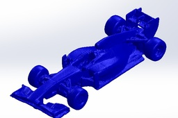 Red Bull Racing RB7 3D Scan