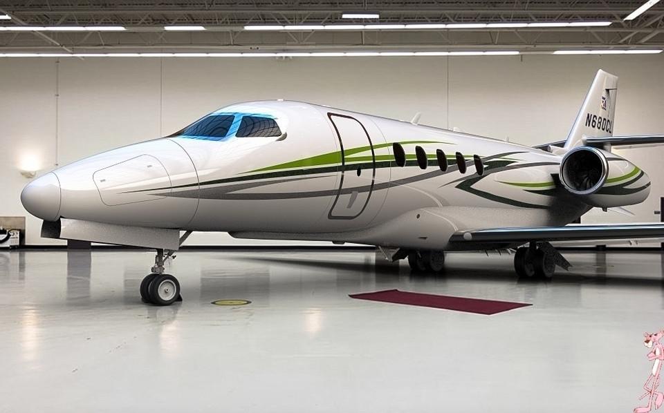 Cessna Citation Latitude 3d Cad Model Library Grabcad