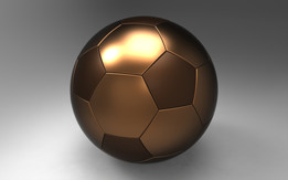 Parametric football ball model