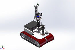 "Autonomous Rescue Robot ""Diamond V2013"""