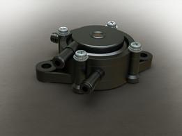 Impulse or vacuum fuel pump