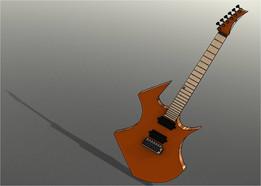 Fiberglas Guitar