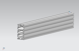 alu extrusion profile 160/80