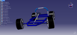 A KART CHASSIS