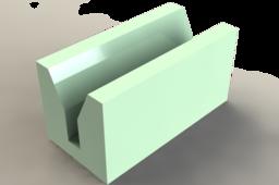 Maquette de linteau échelle 1:10