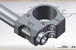 LSL Aluminium clip-ons.