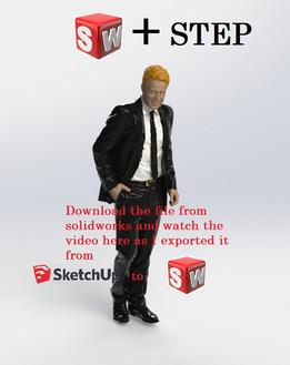 TÉLÉCHARGER PERSONNAGE 3D SOLIDWORKS
