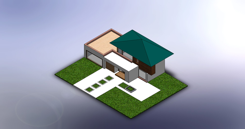 HOUSE SO EMPTY NEED A CENTER PIECE   3D CAD Model Library