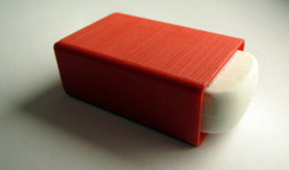 simple 3D printed eraser cover