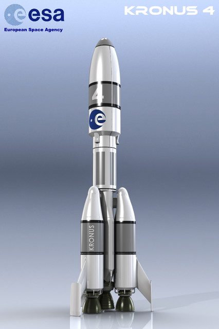 ESA Rocket KRONUS4 | 3D CAD Model Library | GrabCAD