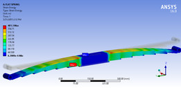 DESIGN OF TRAPEZOIDAL LEAF SPRING FOR ANALYSIS
