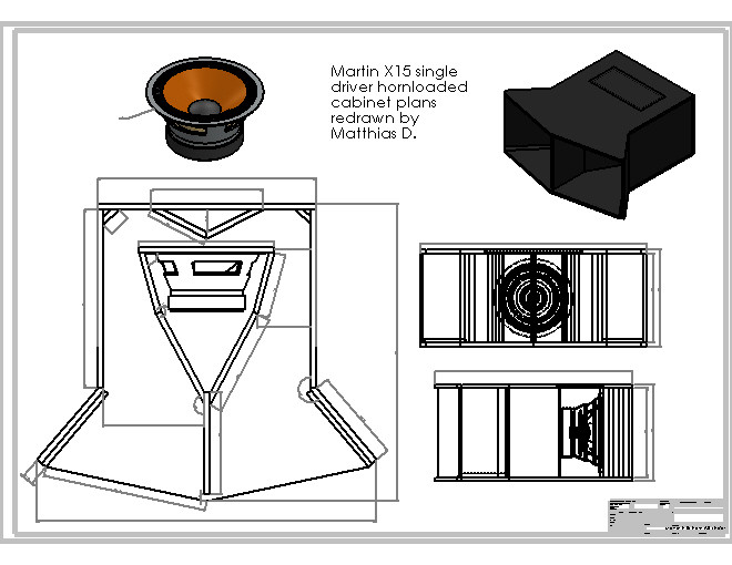 Martin X15 Single 15