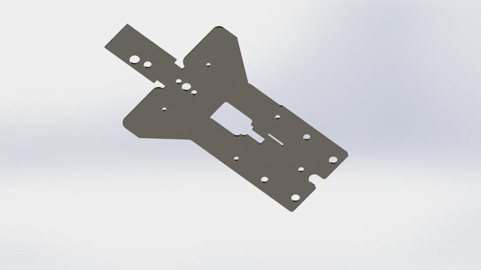 MAC 10 -  45 - Flat | 3D CAD Model Library | GrabCAD