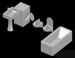 Lavabo 3d Dwg.Lavabo Recent Models 3d Cad Model Collection Grabcad
