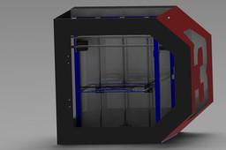 Unique 3D printer by YJz and Divik