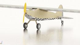 RC plane J3-cub model