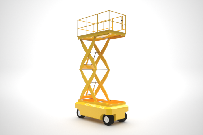 Scissor Lift | 3D CAD Model Library | GrabCAD