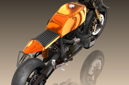 BMW R100RS Cafe-Racer Engine R1100S