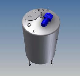 2000 litre process vessel
