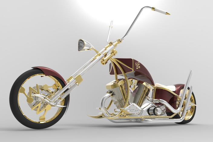 ZW3D Custom Chopper