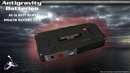 BatteryCase: AG 1A Batt Hawk: stealth battery pack