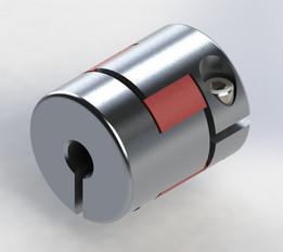 Jaw flexible coupling 6,35x10mm