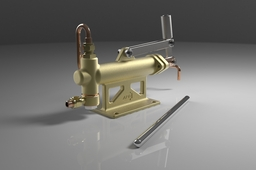 5 Inch Steam Engine Hand Pump