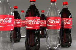 Basic soda bottle