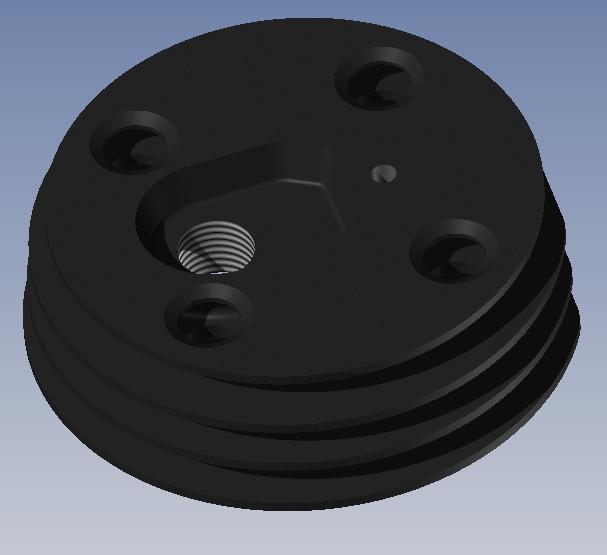 Solex 3800 - engine cylinder head | 3D CAD Model Library | GrabCAD