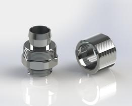 "Swiftech ⅜"" x ½"" Lok-Seal™ Compression Fitting 13-10mm #RTIO"